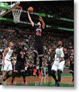 Chicago Bulls V Boston Celtics - Game Metal Print