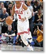 Chicago Bulls V Utah Jazz Metal Print