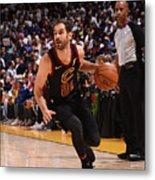 Cleveland Cavaliers V Golden State Metal Print