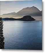 Como District Lake Metal Print