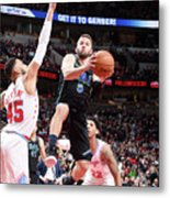 Dallas Mavericks V Chicago Bulls Metal Print