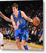 Dallas Mavericks V Golden State Warriors Metal Print