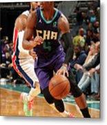 Detroit Pistons V Charlotte Hornets Metal Print