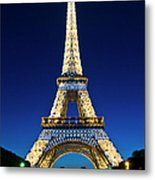 Eiffel Tower, Paris, France Metal Print