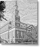 First Baptist Church Columbia Metal Print