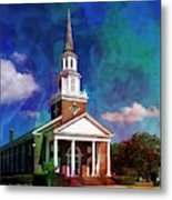 First Baptist Church Myrtle Beach S C Metal Print