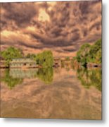 Further Down The River Metal Print