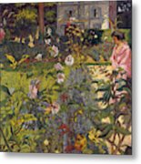 Garden At Vaucresson  Metal Print
