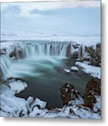 Godafoss - Iceland Metal Print