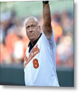 Houston Astros V Baltimore Orioles Metal Print