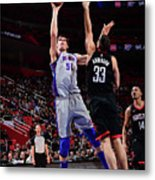 Houston Rockets V Detroit Pistons Metal Print