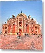 Humayuns Tomb, New Delhi Metal Print
