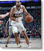 Indiana Pacers V New Orleans Pelicans Metal Print