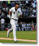 Kansas City Royals V Chicago White Sox Metal Print