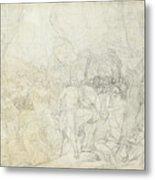 Leonidas At Thermopylae  Metal Print