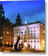 Liverpool's Historic Waterfront Metal Print
