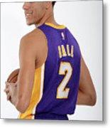 Los Angeles Lakers Introduce Lonzo Ball Metal Print