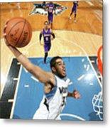 Los Angeles Lakers V Minnesota Metal Print