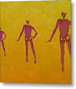 Male In Perspective Metal Print