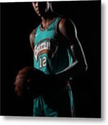 Memphis Grizzlies Portrait Shoot In Metal Print