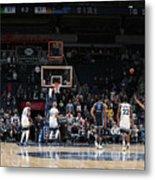 Memphis Grizzlies V Minnesota Metal Print