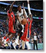 Memphis Grizzlies V New Orleans Pelicans Metal Print