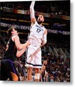 Memphis Grizzlies V Phoenix Suns Metal Print