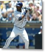 Milwaukee Brewers V San Diego Padres Metal Print