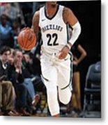 Milwaukee Bucks V Memphis Grizzlies Metal Print