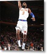 Milwaukee Bucks V New York Knicks Metal Print