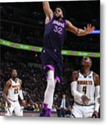 Minnesota Timberwolves V Denver Nuggets Metal Print