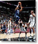 Minnesota Timberwolves V San Antonio Metal Print