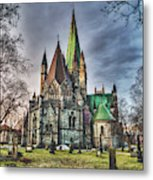 Nidaros Cathedral Metal Print