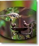 Northern Mockingbird Metal Print