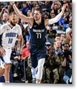 Orlando Magic V Dallas Mavericks Metal Print