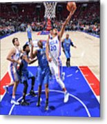 Philadelphia 76ers V Orlando Magic Metal Print