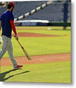 Philadelphia Phillies Bryce Harper Metal Print