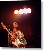 Photo Of Jimi Hendrix Metal Print