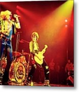 Photo Of Jimmy Page And Led Zeppelin Metal Print