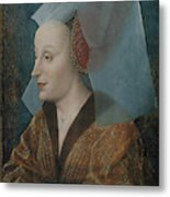 Portrait Of A Noblewoman Metal Print