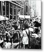 Rolling Stones On Fifth Avenue Metal Print