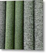 Rolls Of New Carpet Metal Print