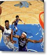 Sacramento Kings V Orlando Magic Metal Print