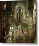Salome Dancing Before Herod Metal Print