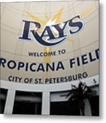 Seattle Mariners V Tampa Bay Rays Metal Print