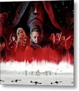 Star Wars The Last Jedi  Metal Print