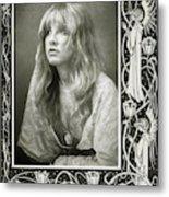 Stevie Nicks Fleetwood Mac Metal Print