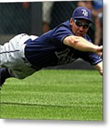 Tampa Bay Rays V Kansas City Royals 2 Metal Print