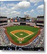 Tampa Bay Rays V New York Yankees Metal Print