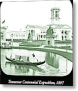 Tennessee Centennial Exposition, Auditorium Building, Lake And G Metal Print